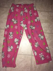 CUTE PYJAMA PANTS WITH POLAR BEARS