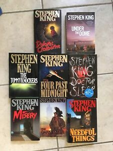 Stephen King Hardcover Books