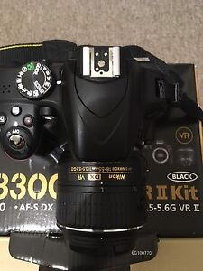 D3300 Nikon 18-55VR2 open box with a new CPL