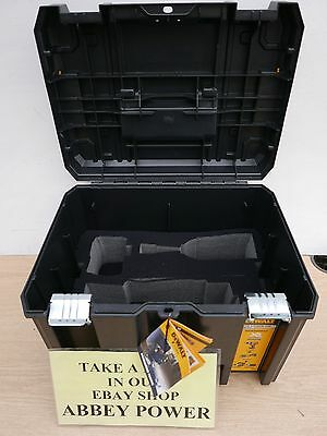 DEWALT DCP580 18V PLANER HEAVY DUTY TSTAK CARRYING CASE WITH FOAM LINER