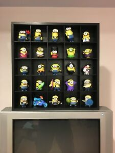 Minions collection with display case