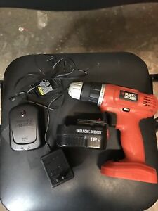 Black and decker 12v drill