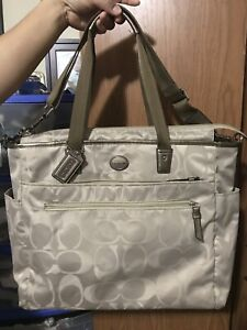 Coach Diaper Bag - In great condition, very clean.