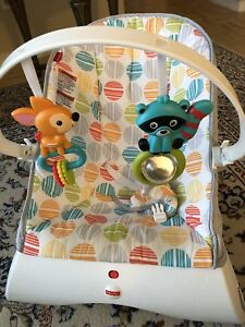 Baby vibrating and bouncer chair! Only used a few months !