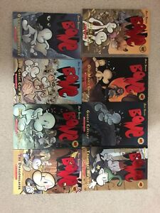 Bone comic book series first 8 books perfect condition