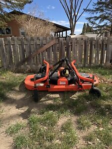 Pull behind finish mower