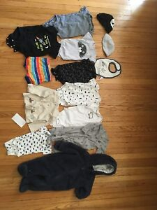 3-6 months clothing($10 for all)