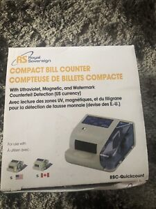 RS Bill Counter - selling for parts (not fully operational)