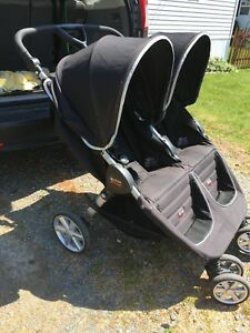 Britax b agile double - excellent condition