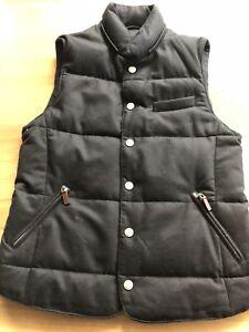 Suit Supply Navy Padded Vest Size M