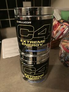 2 30 Servings Cans of C4 Extreme Energy Pre workout