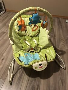 Fisher Price Green Meadows Baby Bouncer 25$