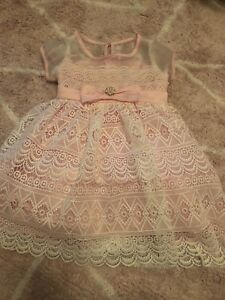 Toddler girl dressy party dresses - like new! Size 2T