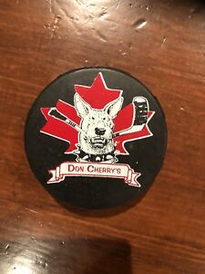 Special edition vintage hockey pucks