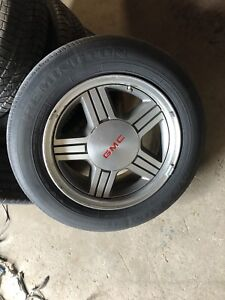 "GM 15"" aluminum wheels"