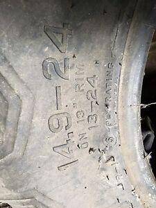 Rear combine tire