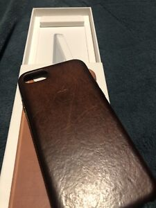 iPhone 7,8 Brown Leather Case