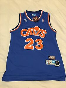 LeBron James NBA Hardwood Classics THROWBACK Jersey (size L) Carlton Melbourne City Preview