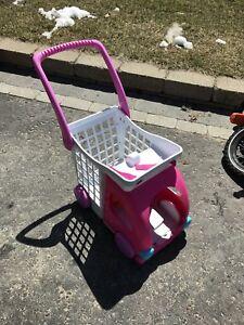 Kids shopping cart