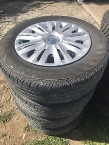 Rims and tires Jetta golf vw
