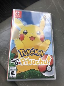 Pokémon let's go pikachu and evee