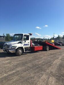 2007 Hino 258 flatbed TOW TRUCK for sale