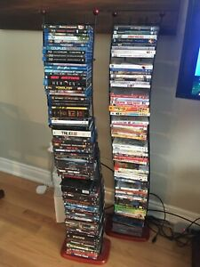 DVD stands (pair) - excludes DVDs