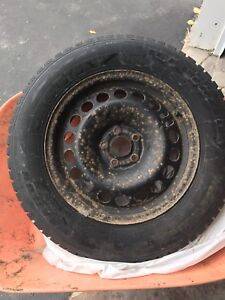 Studded winter tires 215/65r16