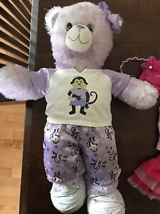 Build a Bear with 3 outfits