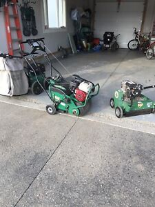 Book now!! Power raking and vacuum and aeration $175