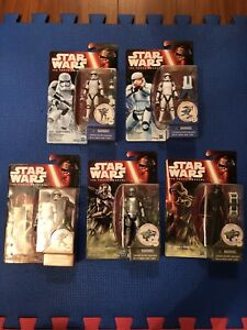 "Star Wars The Force Awakens - 3.75"" Lot"