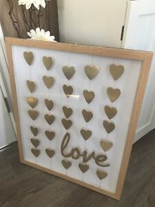 Love Wall Decor * SOLD pending pick up