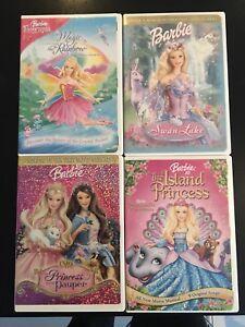 Lot de 10 DVD de Barbie