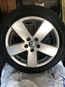VW all season tires and rims