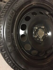 16 INCH TIRES WITH BLACK RIMS