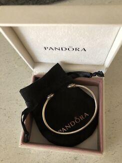 Pandora bracelet and matching ring gift set
