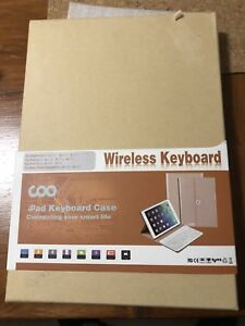 iPad Wireless Keyboard with Case - Brand New in Box