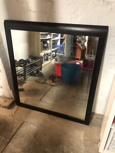 Large Wall Mirror with hooks