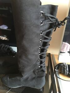 Ladies just fab suede boots