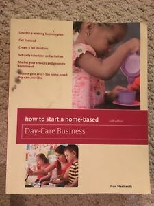 How to start a home daycare book