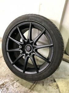 "Brand new 17"" Focal rims with brand new tires 225/45/17"