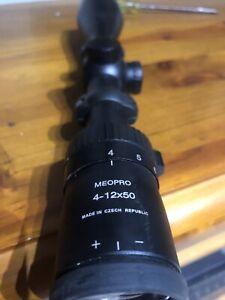 Gun scope 4-12x50