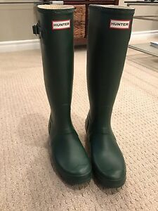 Hunter Rain Boots - Green
