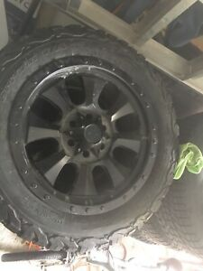 Mags +tires 6x139.7