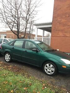 2001 Ford Focus zts in good condition