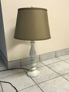 Large wayfair table lamp base + shade