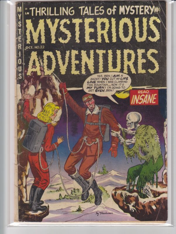 MYSTERIOUS ADVENTURES # 22