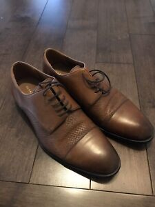 Zara Man Collection 19-embossed leather Size 8.5