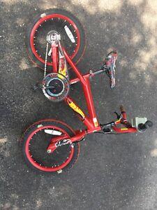 """Kids hot wheels bike 14"""""""