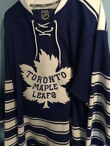 Official Toronto Maple Leafs 2014 Winter Classic Jersey. cbdc5d62707